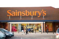 Sainsburys Lizenzfreies Stockfoto