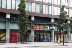 Sainsburys Royalty Free Stock Image