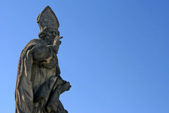 Saint Adalbert statue  Royalty Free Stock Photo
