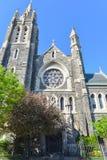 Saint Agnès, Roman Catholic Church, Brooklyn, NY Photos stock