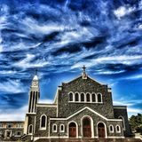Saint Agnes Roman Catholic Church Foto de Stock Royalty Free