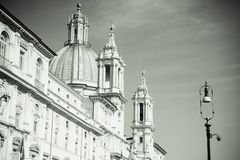 Saint Agnese in Agone, Rome Royalty Free Stock Images