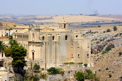 Saint Agostino church in Matera, Italy Stock Images