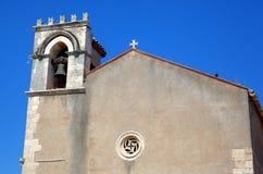 Saint Agostino church in Taormina. Stock Photography