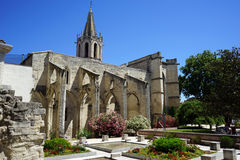 Saint Agricol Church stock photo
