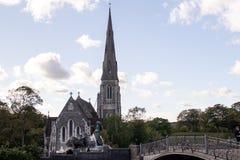 Saint Alban Church, également connu sous le nom d'église anglaise images stock