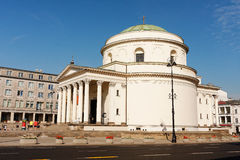 Saint Alexander Church in Warsaw Royalty Free Stock Photography