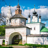 Saint Alexander Convent in the ancient town of Suzdal Royalty Free Stock Photo