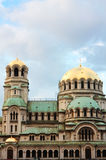 Saint Alexander Nevsky Cathedral Stock Photo