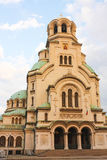 Saint Alexander Nevsky Cathedral Stock Images