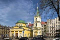 Saint Alexander Nevsky church in Riga, Latvia Stock Photo