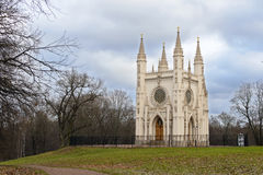 Saint  Alexander Nevsky Orthodox church (Gothic chapel)  in Alex Royalty Free Stock Photo