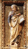 Saint, altar de St Anastasius na catedral de St Domnius na separação foto de stock