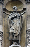 Saint Ambrose. Church of the Holy Trinity, Paris Stock Image