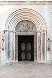 Saint Anastasia Cathedral, Zadar, Croatia Stock Photos