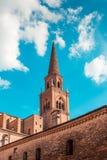 Saint Andrea basilica - italian renaissance architecture Mantua italy. Saint Andrea basilica - italian renaissance architecture - travel destinations - Mantua Royalty Free Stock Images