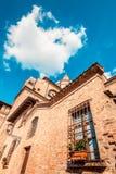 Saint Andrea basilica - italian renaissance architecture - travel destinations Mantua italy. Saint Andrea basilica - italian renaissance architecture - travel Royalty Free Stock Images