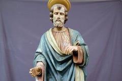 Saint Andrew the Apostle. Church of Saint Matthew in Stitar, Croatia Stock Image
