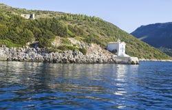 Saint Andrew chapel Ithaca Greece Stock Images
