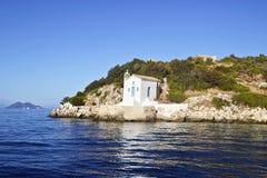 Saint Andrew chapel Ithaca Greece Stock Photo