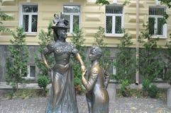 Saint Andrew Church de Kiev de statue de proposition Photos libres de droits