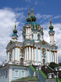 Saint andrew church, kiev, ukraine, Stock Images