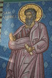 Saint Andrew Figure. At Osorno Church in Chile Stock Photos
