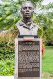 Statue/Sculpture of Jamaican National Hero Paul Bogle. Saint Andrew, Jamaica - February 05 2019: Statue/Sculpture of Jamaican Baptist Deacon and National Hero royalty free stock images