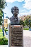 Statue/Sculpture of Jamaican National Hero Norman Manley. Saint Andrew, Jamaica - February 05 2019: Statue/Sculpture of Jamaican Statesman and National Hero royalty free stock photo