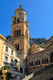 Saint Andrew's Cathedral, Amalfi Stock Images