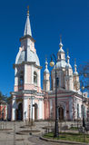 Saint Andrew's Cathedral in Saint Petersburg Royalty Free Stock Image