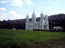 Saint Andrew`s Cave Monastery royalty free stock photography
