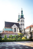 Saint Andrew's church in Cracow Stock Image