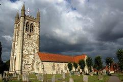 Saint Andrew's Church, Farnham. The parish church of Saint Andrew in Farnham, Surrey Royalty Free Stock Photos
