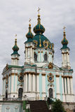 The Saint Andrew's Church in Kiev Stock Photos