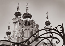 Saint Andrew's Church - Kiev Royalty Free Stock Photos