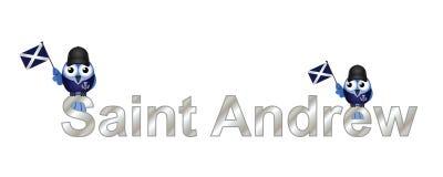 Saint Andrew Stock Image