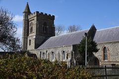 Saint Andrews Church. In Church Road royalty free stock image