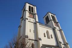 Saint Andrews Church in Salzburg, Austria. Royalty Free Stock Photo