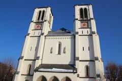 Saint Andrews Church in Salzburg, Austria. Royalty Free Stock Images