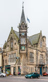 Saint Andrews Town Hall. St. Andrews, Scotland - September 16, 2014: Saint Andrews Town Hall building, located in Queen's Gardens street, hosts formal and Stock Images