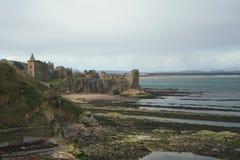 saint andrews zamku Zdjęcie Royalty Free
