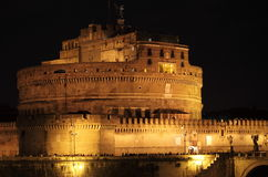 Saint Angel Castle by night Royalty Free Stock Image