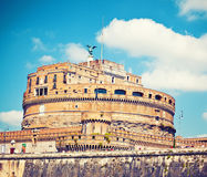 Saint Angel castle in Rome Royalty Free Stock Photo