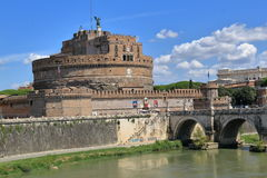 Saint Angel Castle in Rome, Italy Stock Photo
