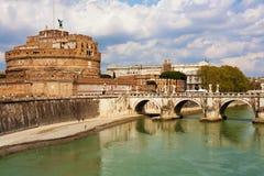 Saint Angel Fortress, Rome Stock Photo