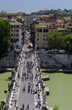 Saint Angelo bridge Stock Photography