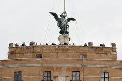 Saint Angelo Castle, Rome, Italy Royalty Free Stock Photos
