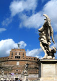 Saint Angelo de château Photos stock