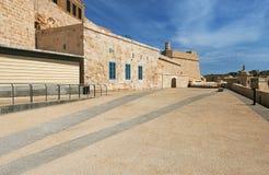 Saint Angelo Malte de fort Images stock